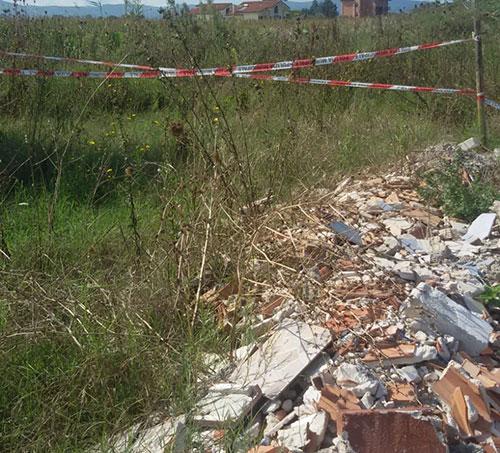 Capaccio: discarica abusiva in località Linora