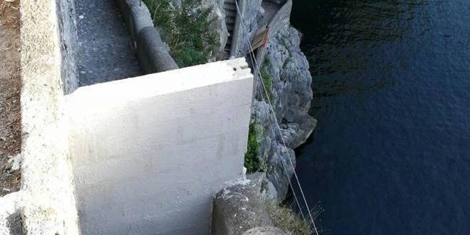 Pericolo frane, il Fiordo di Furore murato dopo l'estate