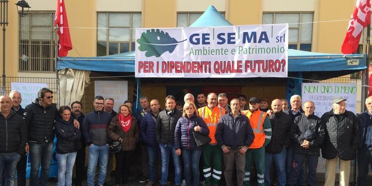 Mercato S. Severino: venti ex dipendenti della Gesema sono senza un lavoro