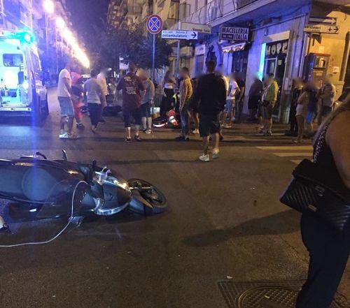 Scontro tra scooter a Pastena, due feriti