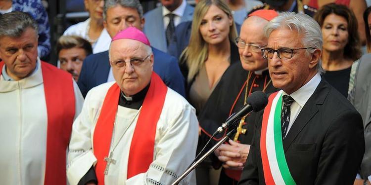 San Matteo al Comune di Salerno, l'arcivescovo Moretti: «Va il 18 settembre»