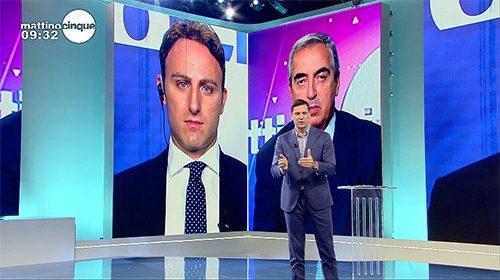 Decreto sicurezza, Piero De Luca a Mattino Cinque «Non risolve i problemi»