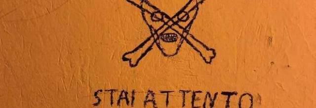 Scritte minacciose contro Salvini: tensione per il raduno della Lega
