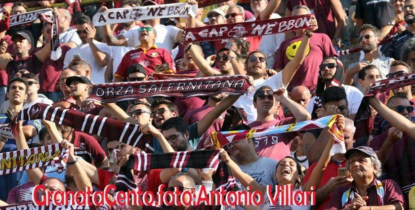 Salernitana – Perugia: Prevendita biglietti