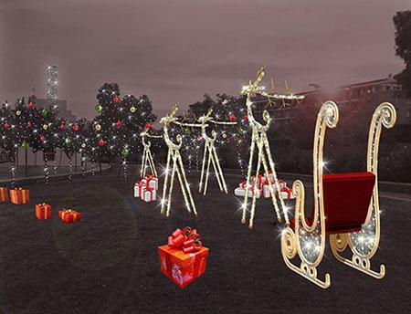 Salerno: al parco dell'Irno il villaggio di Babbo Natale