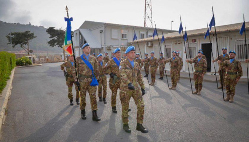 Libano, è arrivato lo stendardo del 19° Reggimento Guide di Salerno