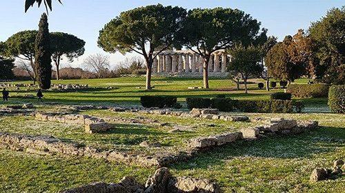 Capaccio: ticket d'ingresso per i bus turistici nella zona archeologica