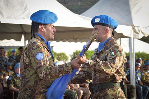 """Esercito: le """"Guide"""" di Salerno al comando di Italbatt in missione in Libano"""