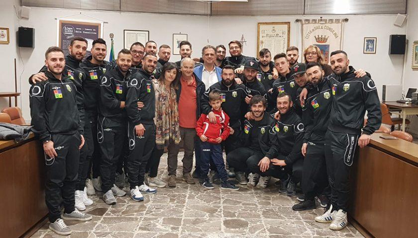 Presentato lo Sporting, il calcio ad undici torna a Sala Consilina