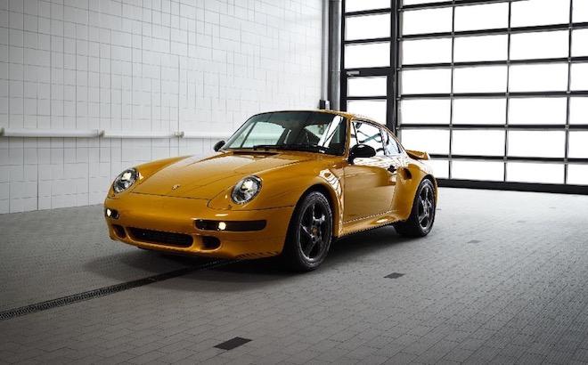Porsche 911 Turbo 993 Project Gold: venduta in soli 10 minuti