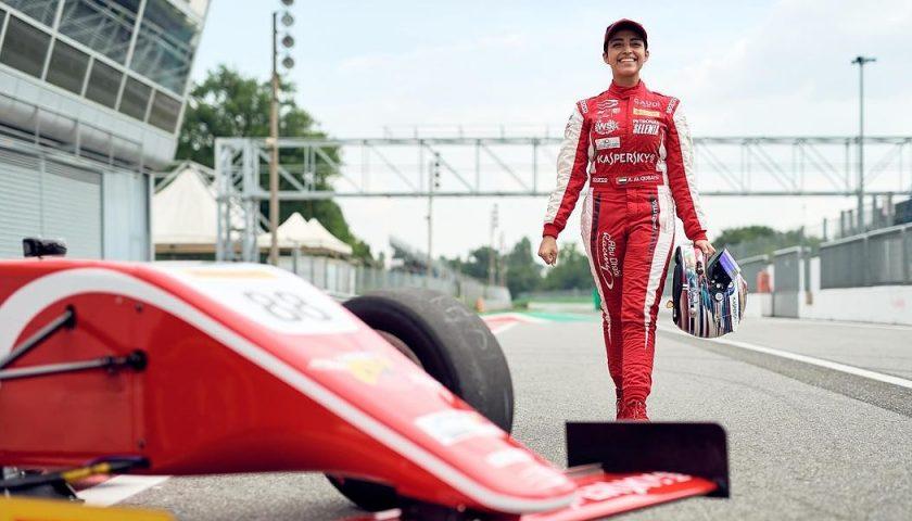 "Amna, prima donna pilota araba: ""Sogno la Formula 1"""