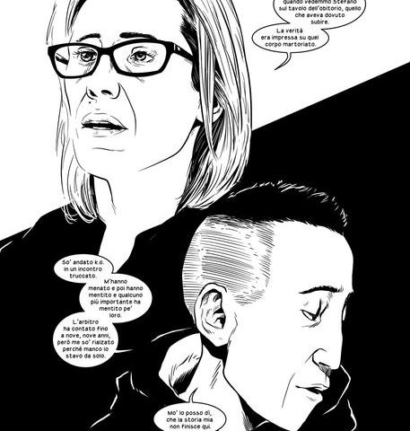 Il caso Cucchi in un graphic novel