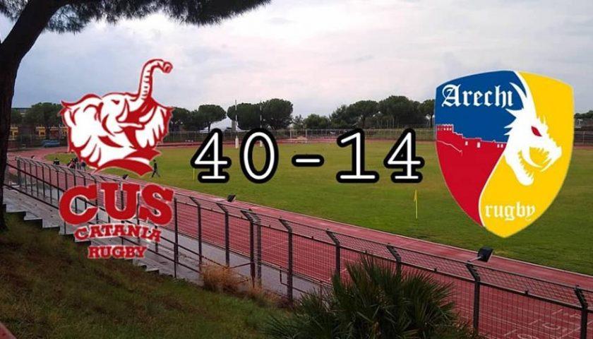 Inizia con una sconfitta il cammino della stagione 2018-2019 dell'Arechi Rugby