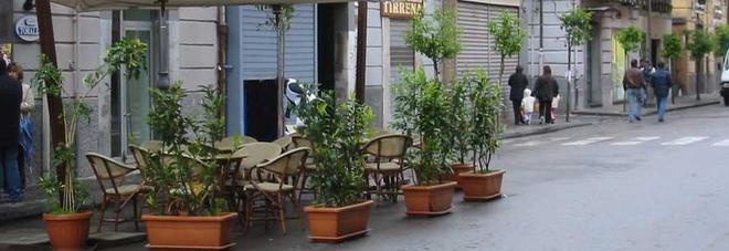 Salerno, il tesoretto dei dehors: il Comune incassa 5,4 milioni di euro