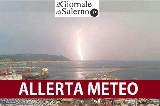 Regione Campania, avviso della Protezione Civile per allerta meteo arancione