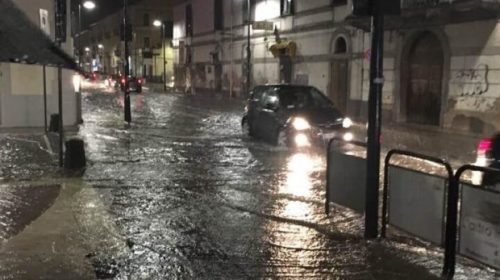 La Protezione civile Campania: prorogata e innalzata allerta meteo fino alle 6 di lunedì mattina: da domani criticità arancione