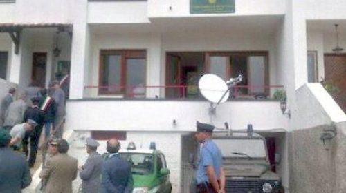 La caserma dei carabinieri nei locali sequestrati al clan Pecoraro a San Cipriano Picentino