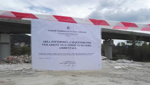 Ambiente, Carabinieri del NOE in azione ad Omignano e  Castellabate