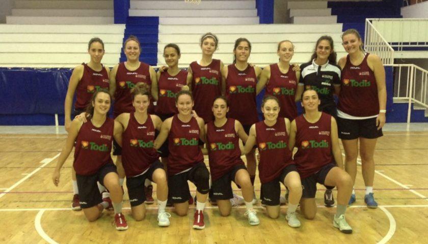 Todis Salerno Basket '92 verso il campionato, vittoria in amichevole a Caserta