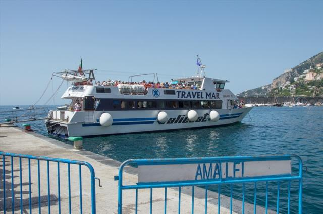 Vie del Mare: il 4 novembre stop ai collegamenti Travelmar per la costiera amalfitana