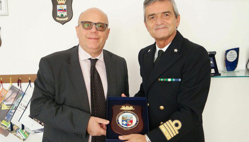 Il Prefetto di Salerno in visita alla sede della Capitaneria di Porto
