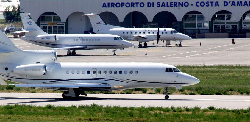 Aeroporto Salerno Costa d'Amalfi: si al Master Plan per l'allungamento della pista