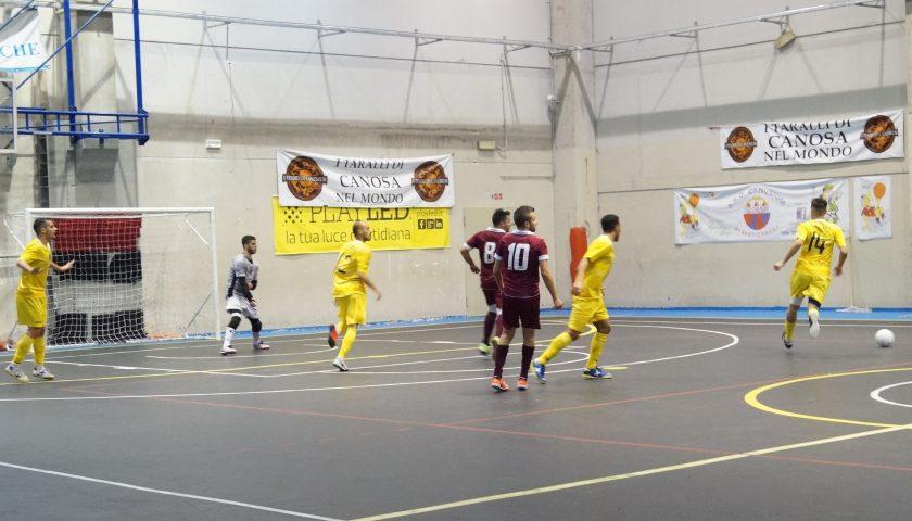 Due minuti infernali condannano l'Alma Salerno:  il Futsal Canosa vince per 8 a 3