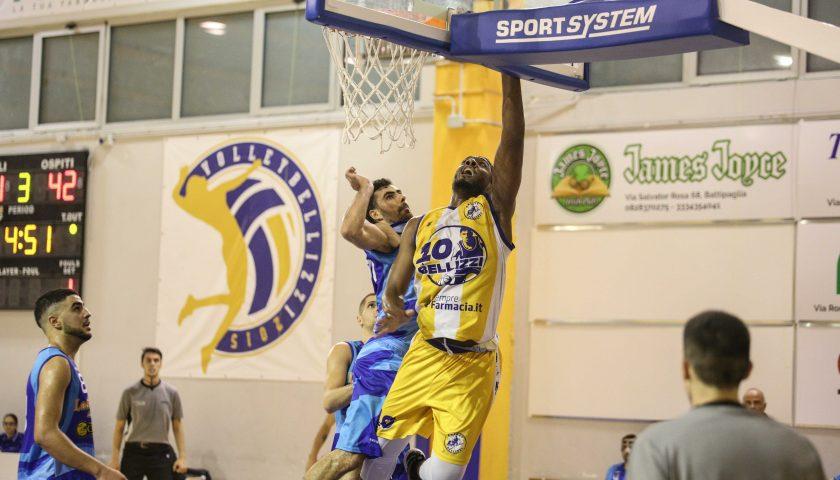 Successo da brividi per il Basket Bellizzi: Agropoli battuta 76-68