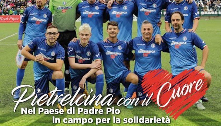 Pietrelcina (Bn): domenica in campo per beneficenza la Nazionale Cantanti contro la Rappresentativa Amministratori Sanniti