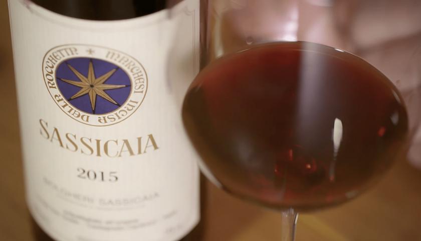 Per Wine Spectator il Sassicaia 2015 è il miglior vino al mondo