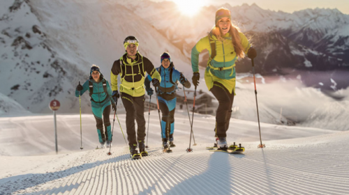 Speedfit, lo scialpinismo sportivo su itinerari tracciati e discesa in pista