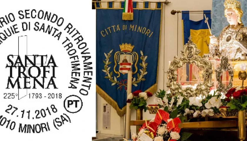 Poste Italiane, un annullo filatelico per Santa Trofimena di Minori
