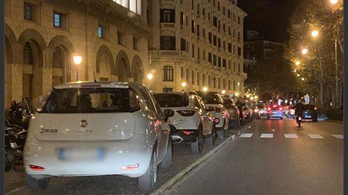 Movida nel weekend: Salerno nel caos e parcheggio selvaggio