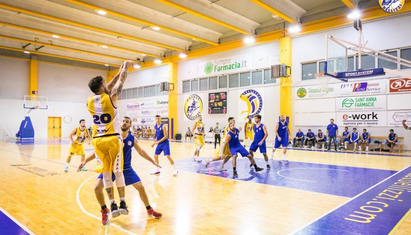 Non riesce l'impresa al Basket Bellizzi, vince la Pallacanestro Partenope