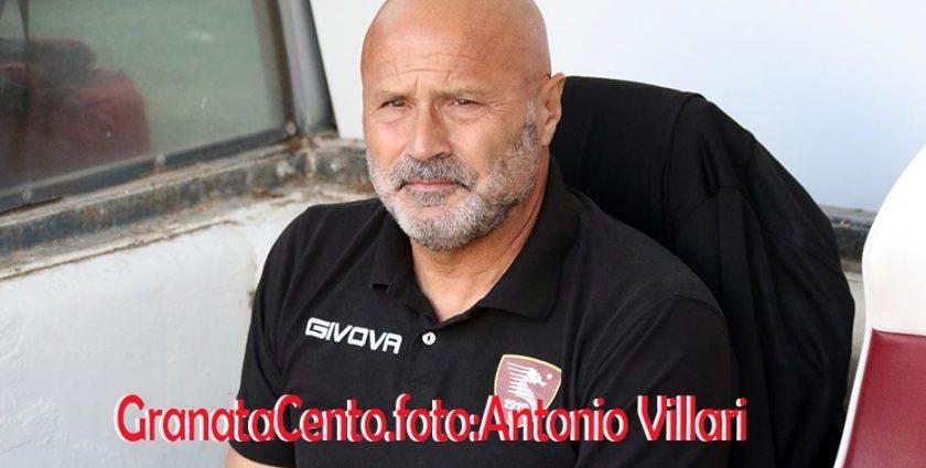 """Colantuono: """"I riflettori si sono accesi sulla Salernitana, vogliamo rimanere nella zona play off"""""""