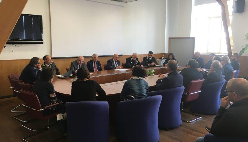 """Comitato provinciale per l'ordine e la sicurezza pubblica sulla situazione nel """"basso Cilento"""""""