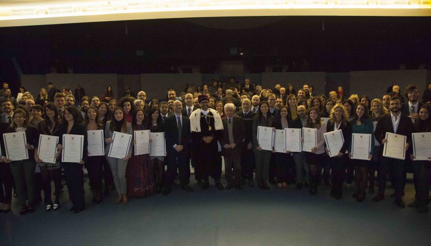Stamattina la cerimonia di proclamazione dei Dottori di Ricerca dell'Università di Salerno