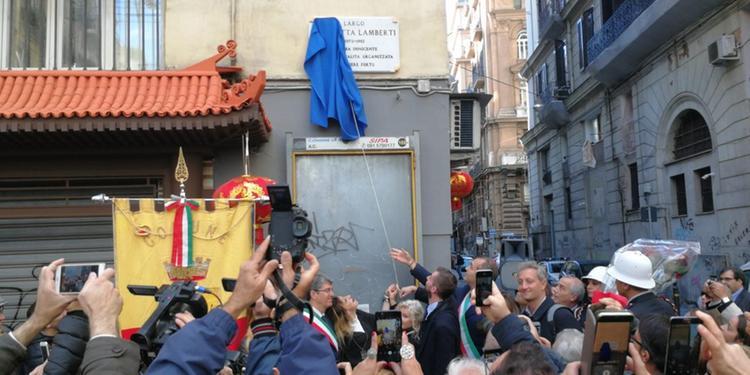 Simonetta Lamberti, vittima innocente a Cava de' Tirreni: per lei una piazza di Napoli