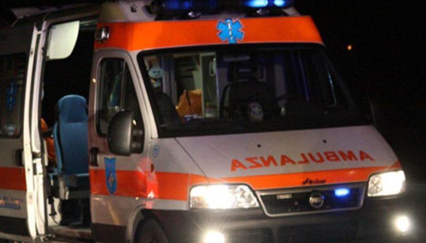 Incidente sulla Salicuneta a Vallo della Lucania: due feriti