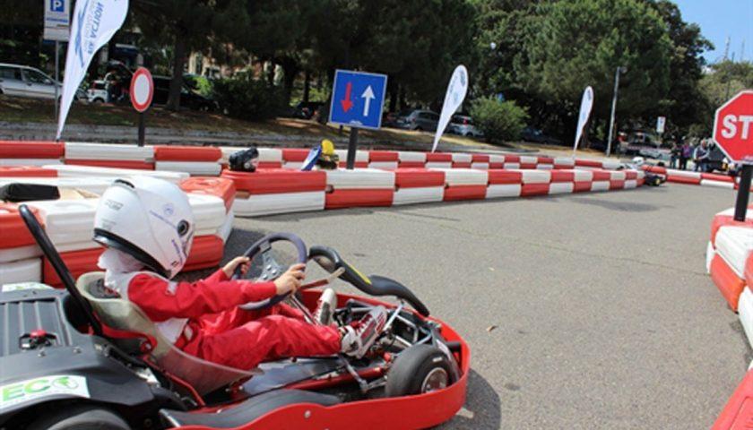 Karting in Piazza, domani a Salerno in piazza Amendola