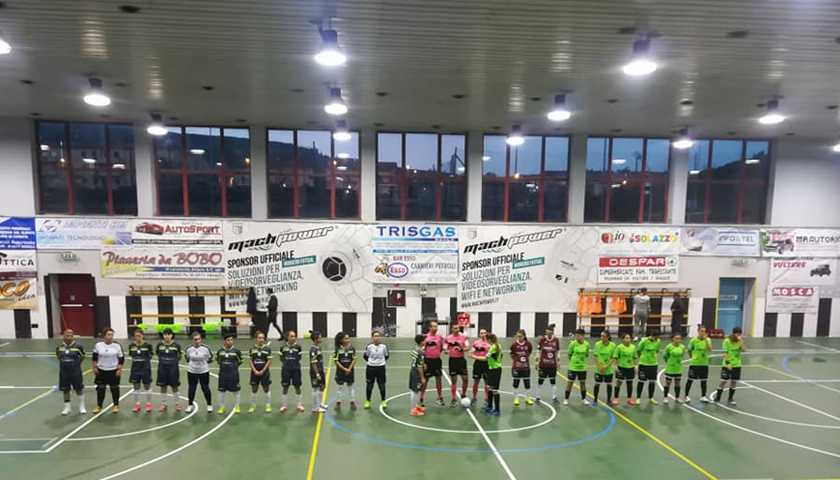 Salernitana femminile, rimonta sfiorata sul campo del Futsal Rionero