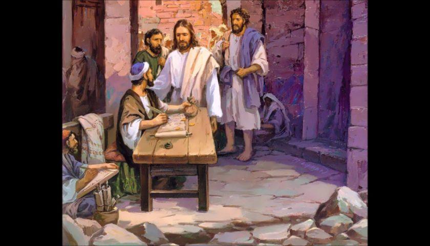 Salerno, al duomo di San Matteo l'opera Mt 9,9-13 del maestro Ippazio Campa