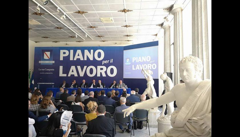 Piano Lavoro della Campania: se ne discute mercoledì a Palazzo S. Agostino