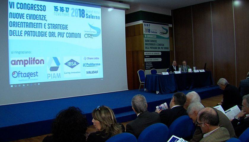 A Salerno il congresso annuale degli otorinolaringoiatri del gruppo campano ORL