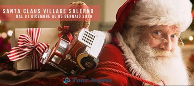 Dal 1° dicembre arriva il nuovo Santa Claus Village a Salerno