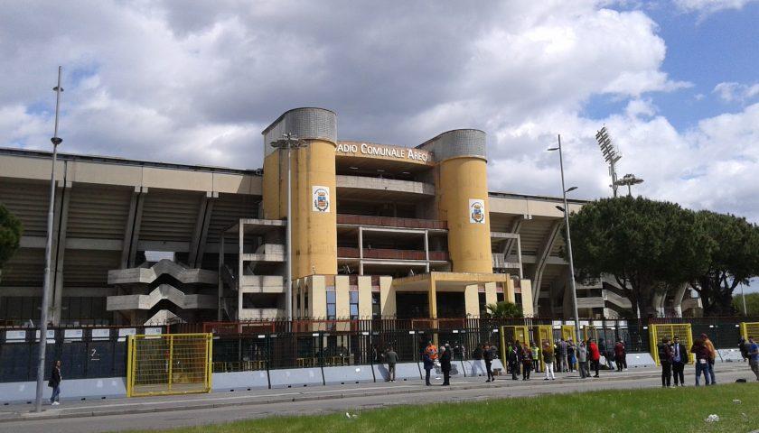 Partono i lavori di restyling dello stadio Arechi, in arrivo 38mila sediolini