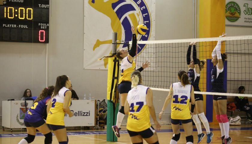 Esordio con il botto per il Volley Bellizzi: netto 3-0 all'Aversa Volley
