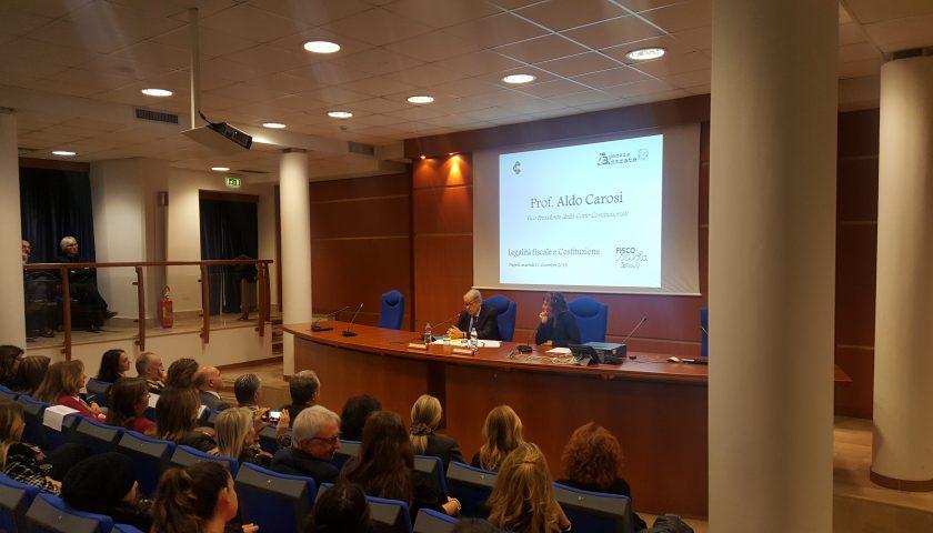 Legalità fiscale e Costituzione: gli studenti campani incontrano il Vice Presidente della Corte Costituzionale Aldo Carosi