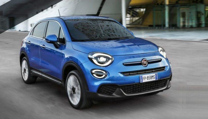 Novità Fiat: la 500X ibrida potrebbe arrivare a maggio 2019