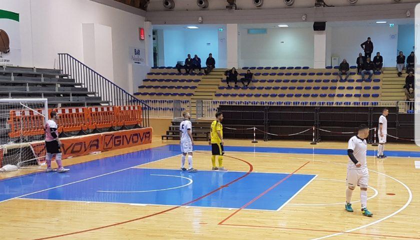 L'Alma Salerno si fa rimontare e perde con il Futsal Parete